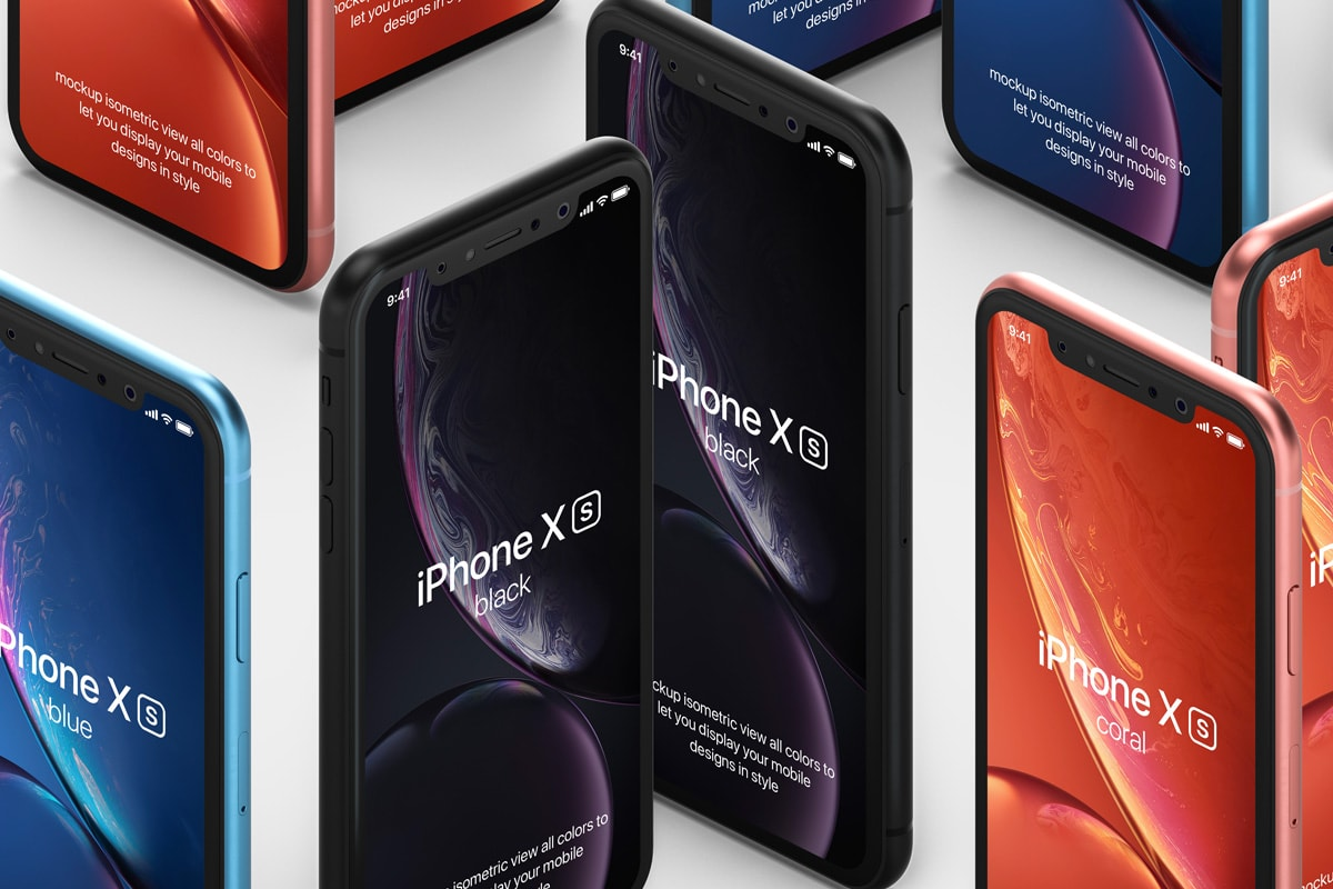 Free iPhone XR Mockups