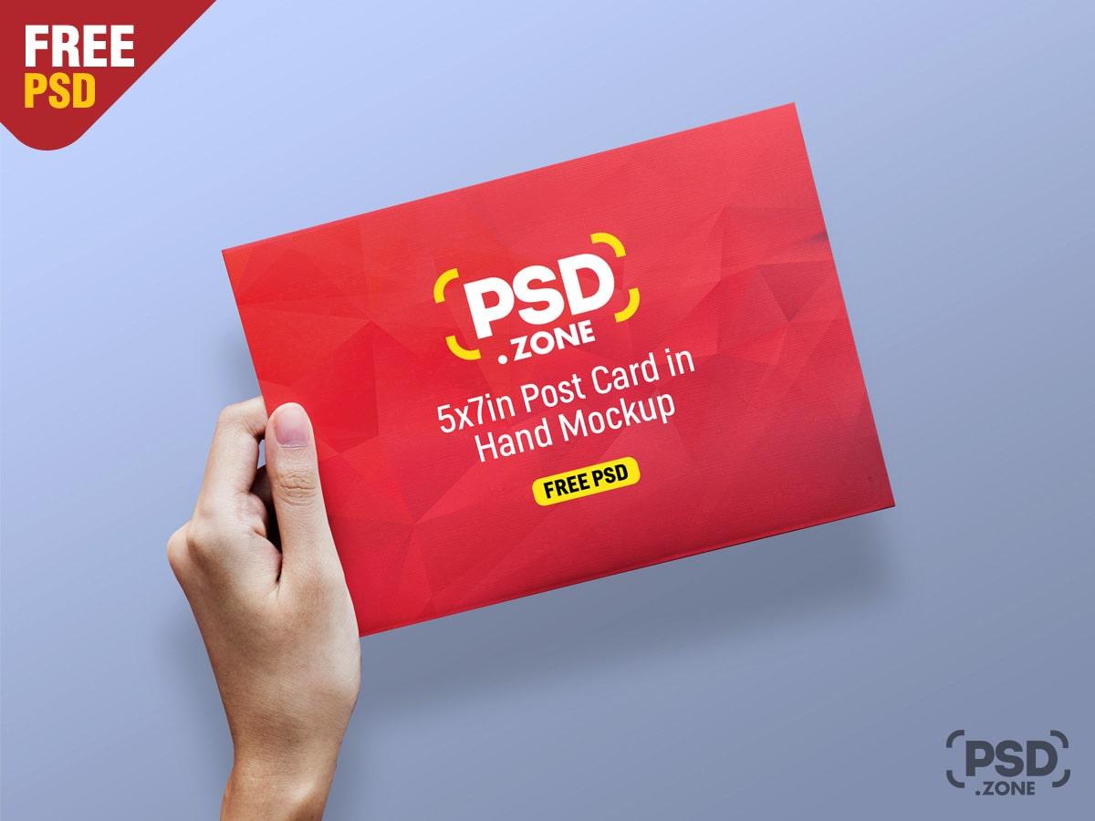 Greeting Card & Postcard Mockups