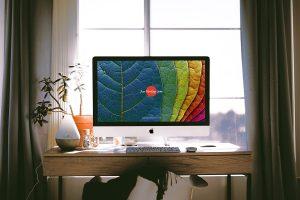 Interior Designer Workstation iMac Pro Free Mockup