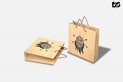 Paper Shopping Bag Mockups