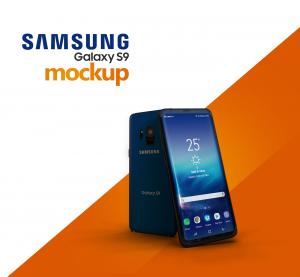 Samsung Galaxy S9 Free Mockup