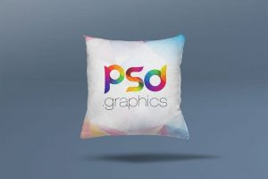 Square Pillow Cushion Free Mockup