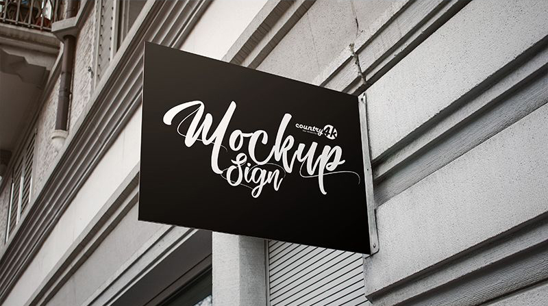 Street Sign Free Mock-ups