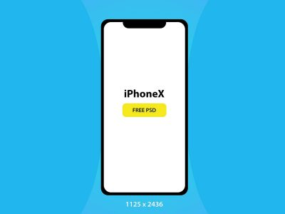 iPhone X Free Mock-up