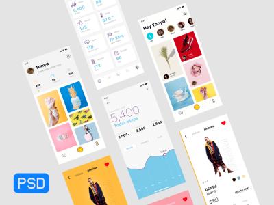 Free App Presentation Mock-ups