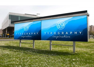 Free Big Billboard Advertisement Mockup