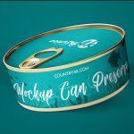 Free Can Preserve Mockups