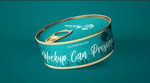 Free Can Preserve Mockups