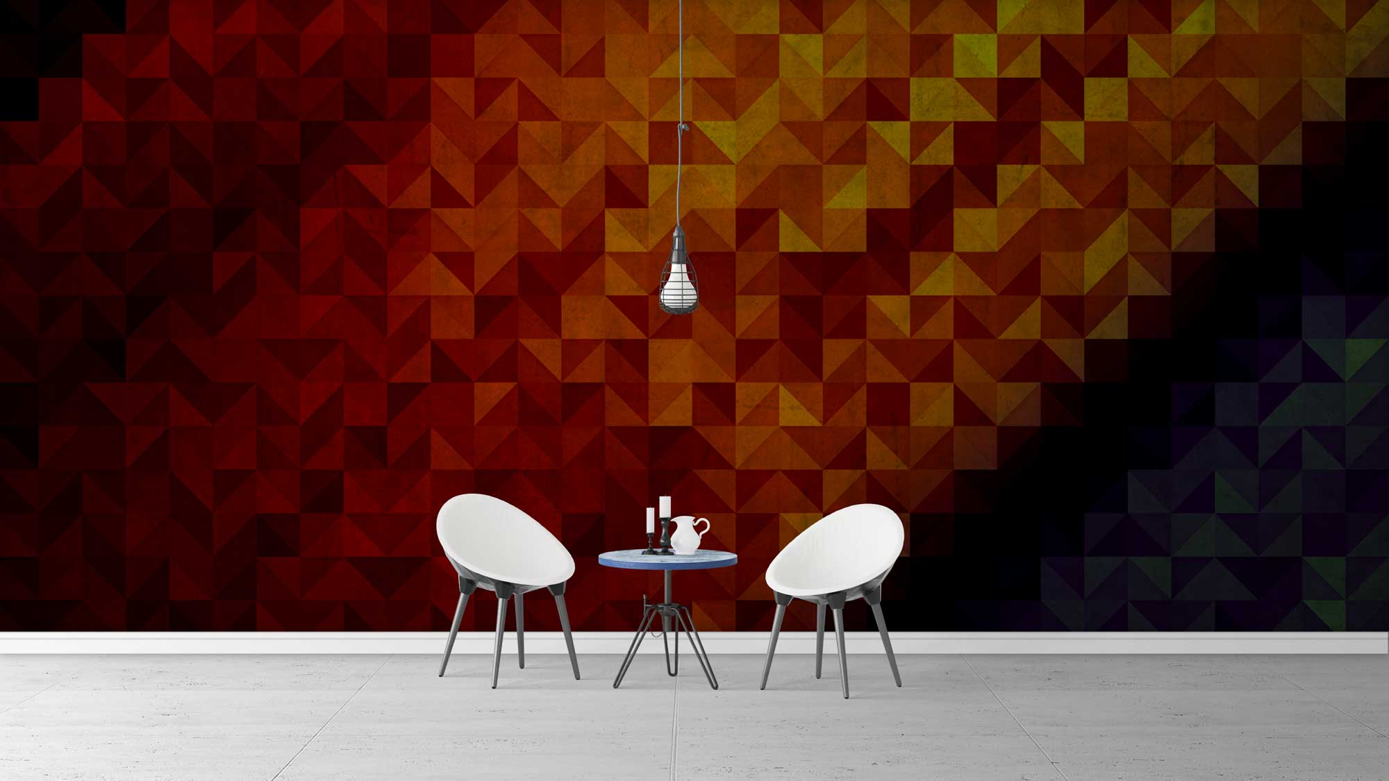 Free Dining Room Wall Mockups