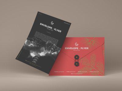 Free Envelope & Flyer Mockups