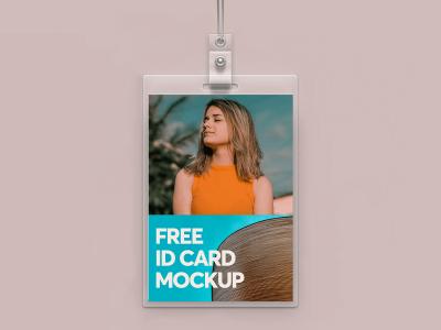 Free ID Card Mockups