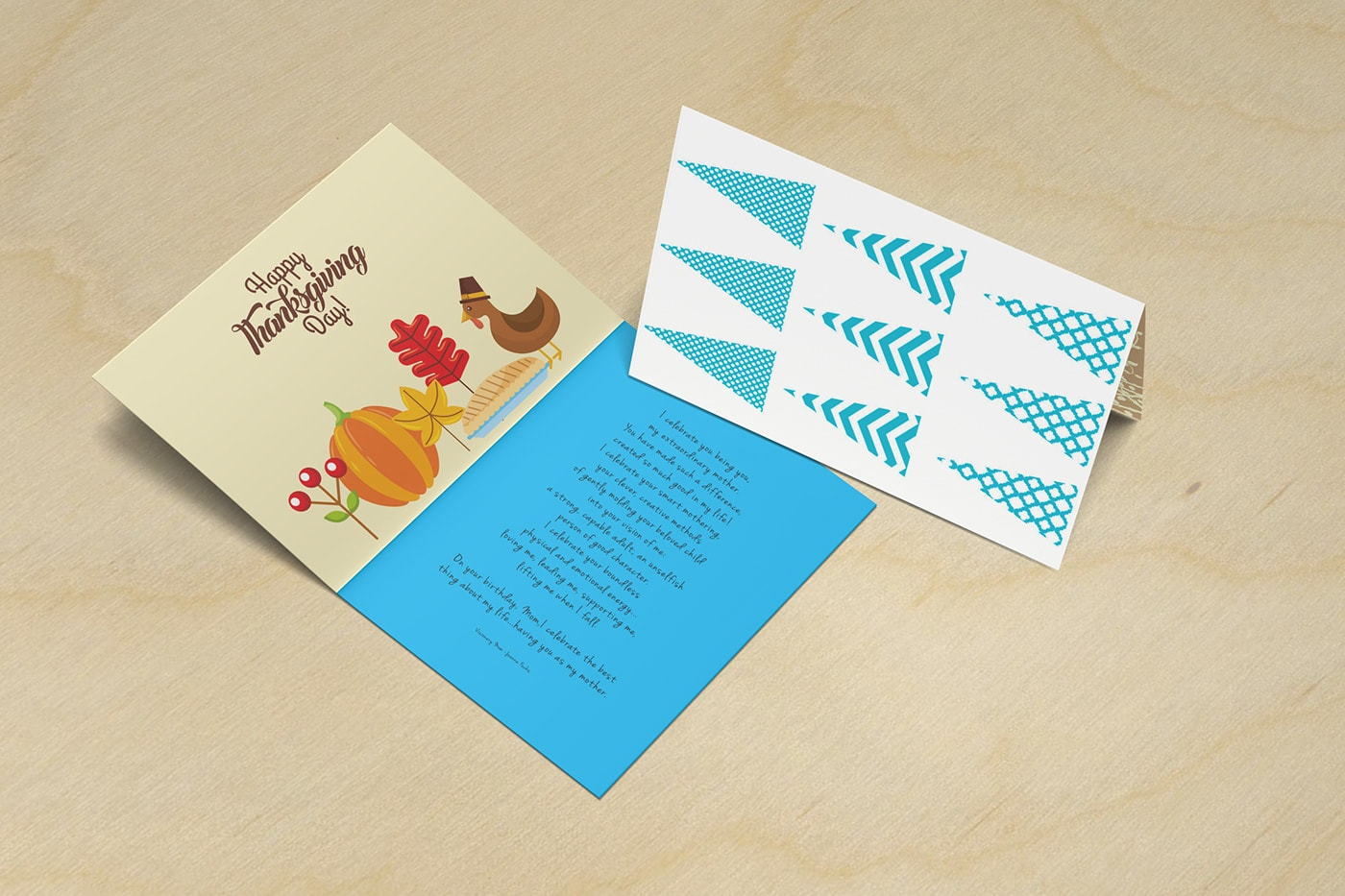 Free Invitation & Greeting Card Mockups