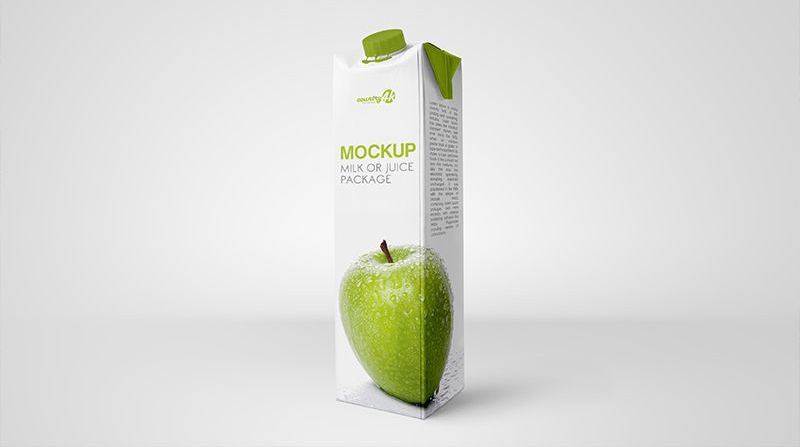 Free Juice Drink Packaging Mockups