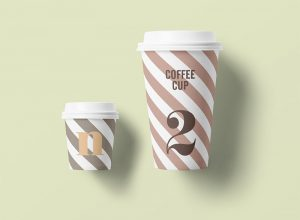 Free Paper Coffee Cup Mock-ups