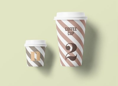 Free Paper Coffe Cup Mock-ups