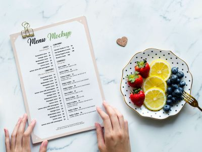 Free Restaurant Menu Mockups