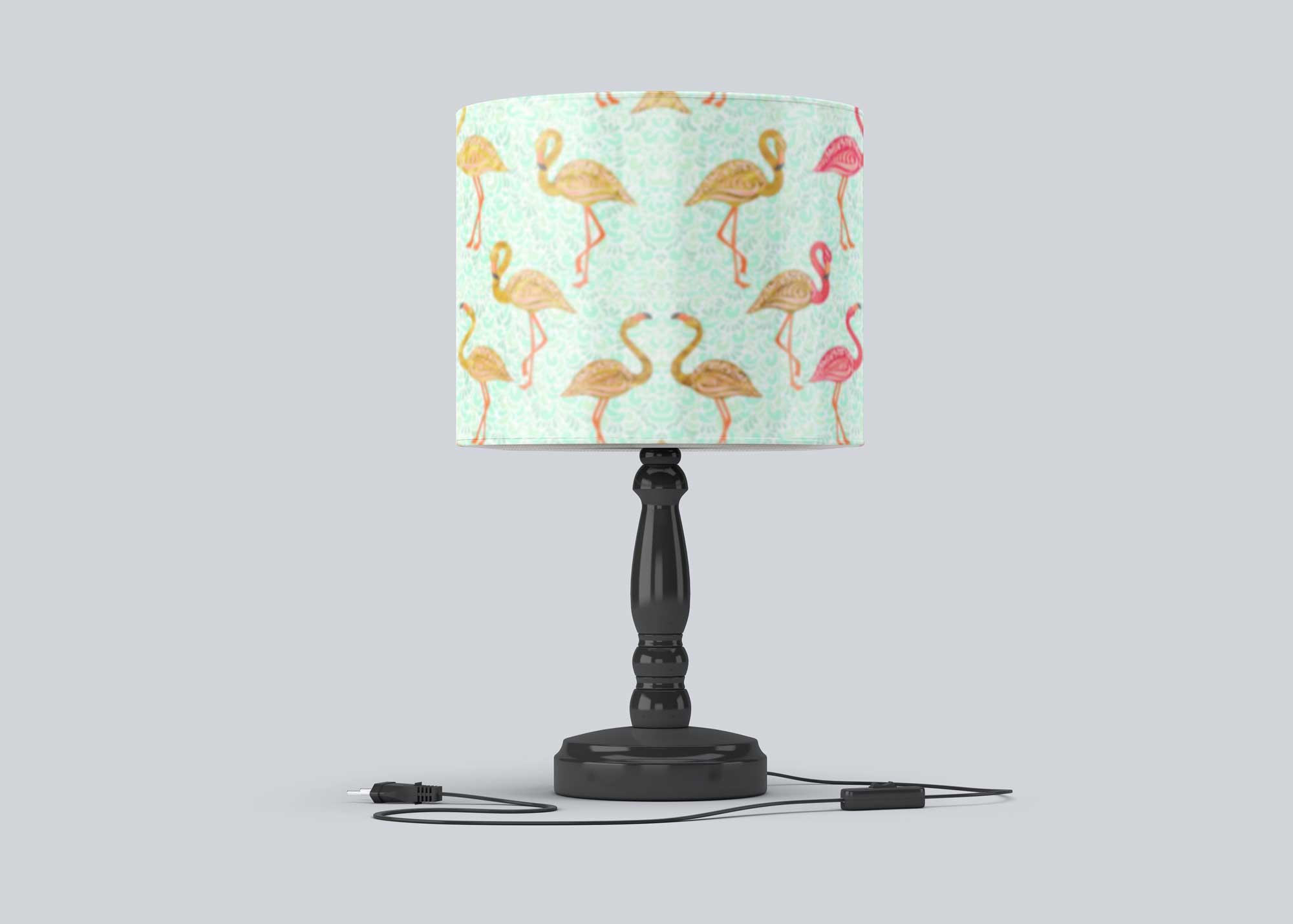 Free Room Lamp Mockup