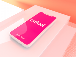 Free Simple 4D iPhone Mockup