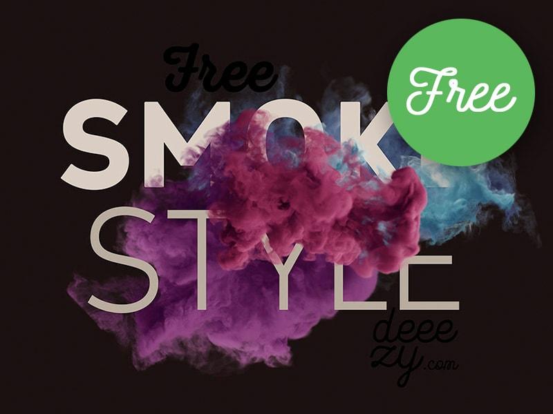 Free Smoke Scene Mock-ups