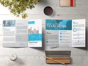 Free Tri-Fold Brochure Mock-ups