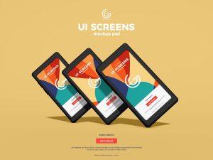 Free UI Screens Mockup