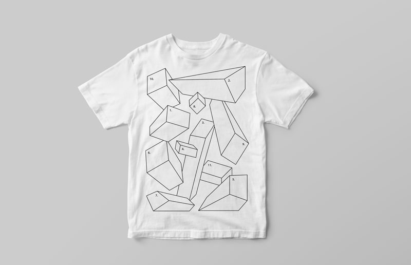 White T-Shirt Free Mock-up