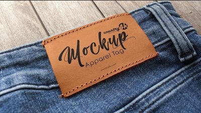 Apparel Tag Free Mockups