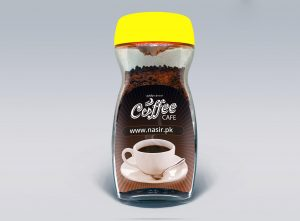 Free Coffee Jar Mockup