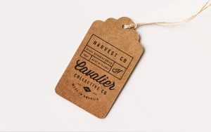 Clothing Tag Free Mockup