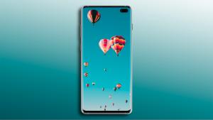 Free Galaxy S10+ Mockup