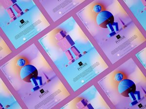 Free Branding Poster Mockup Design