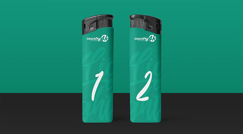 Free Lighter Mock-ups
