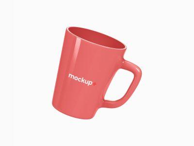 Ceramic Mug Free PSD Mockup