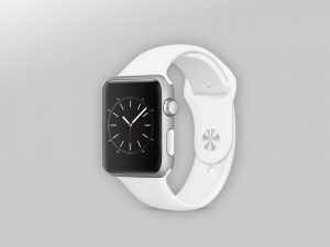 Free Apple Smart Watch Mockup