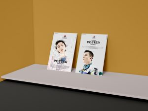 Free Brand Presentation Poster Mock-ups