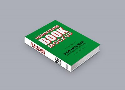 Free Harcover Book Mockup