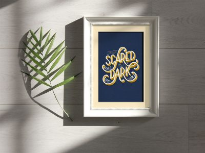 Free Photo Frame Under Natural Sunlight Mockup