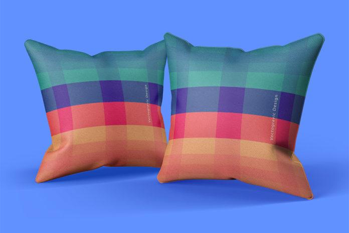 Free Pillow Mock-ups Pack