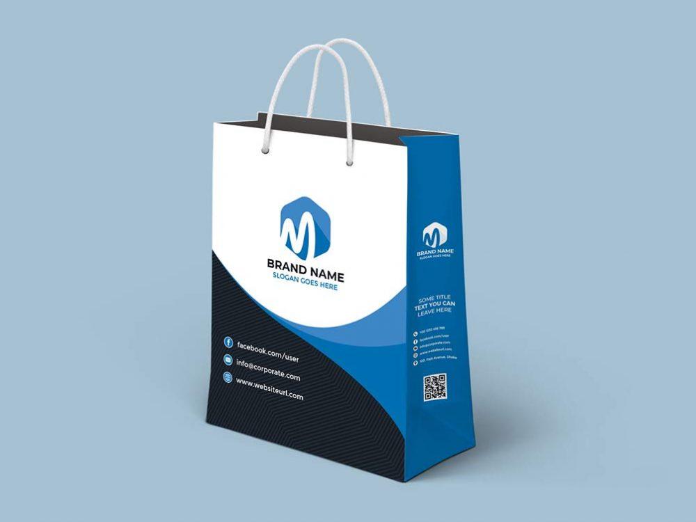 Free Shopping Bag Mockup Psd Template Free Mockup