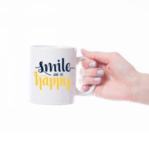 White Mug Free Mockup
