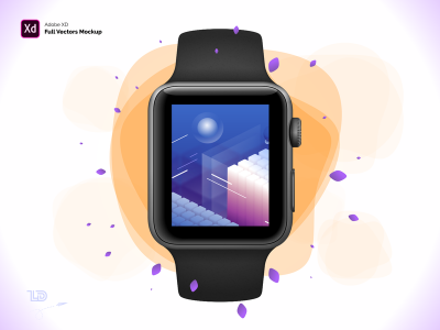 Apple Watch S3 42mm Free Mockup