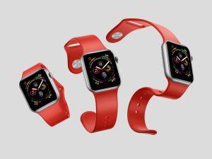 Free Apple Watch 4 Mock-ups