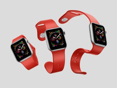 Free Apple Watch 4 Mock-ups