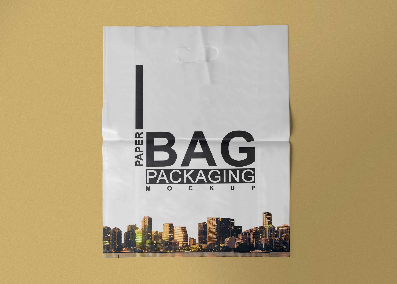 Free Poly Bag Mockup