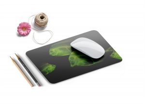 Free Unique Mouse Pad Mockup
