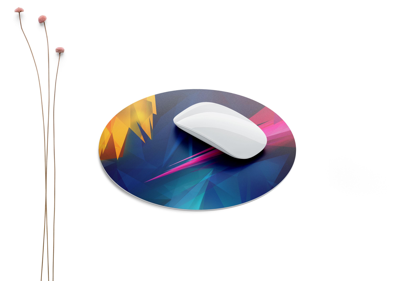 Gaming Mouse Pad Free PSD Mockup