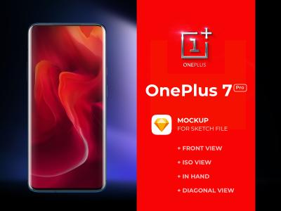 OnePlus 7 Pro Free Mockups