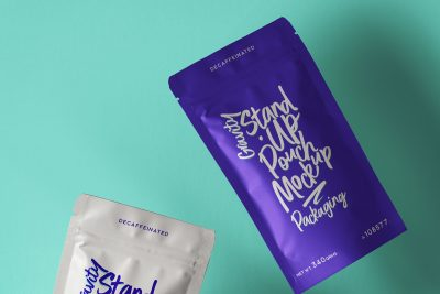Stand-Up Pouch Packaging Mockups