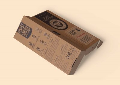 Stationery Box Free PSD Mockup