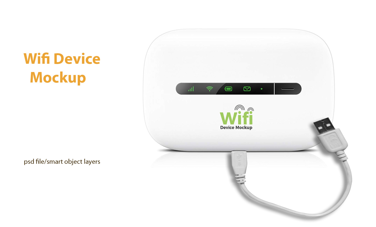 Wifi Router Free Mockup